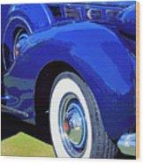 Packard Palm Springs Wood Print