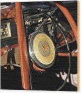 Packard Steering Wheel Wood Print
