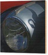 Packard Swan Shadow Wood Print