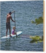 Paddle Board Wood Print