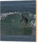 Paddleboarding 2 Wood Print