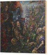 Padmasambhava's Initiation Wood Print