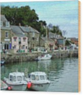 Padstow Harbour - P4a16021 Wood Print