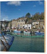 Padstow Harbour  Wood Print