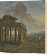 Paestum Wood Print