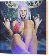 Pagan Paradise Wood Print
