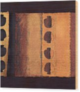 Page Format No 3 Tansitional Series   Wood Print