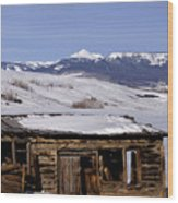 Pagoda Peak In Flat Tops Once Upon A Time Wood Print