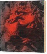 Pahoehoe Lava Wood Print