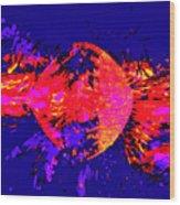 Paintball Splat Wood Print