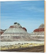 Painted Desert 2 Wood Print