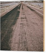 Painted Desert Road #4 Wood Print