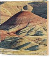 Painted Hills, Oregon Wood Print