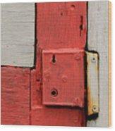 Painted Lock Wood Print