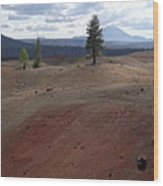 Painted Sands Wood Print