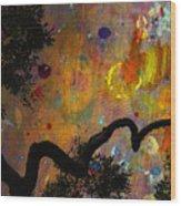 Painted Skies Wood Print