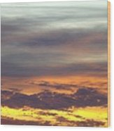 Painted Sky Two Wood Print
