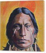 Painted Tears Wood Print