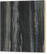 Painterly Wood Print