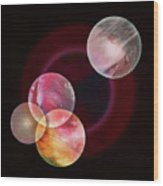 Painter's Universe Wood Print
