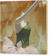 Painting A Ballet Dream Wood Print