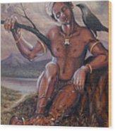 Pakkanar's Salvation Wood Print