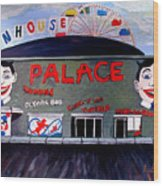 Palace Amusements Asbury Park Nj Wood Print