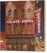 Palace Hotel Wood Print