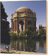 Palace Of Fine Arts Sf Wood Print