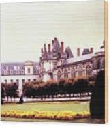 Palace Of Fontainebleau 1955 Wood Print