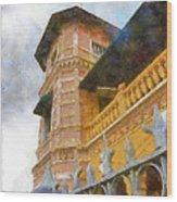 Palace Of The Iturriza Wood Print