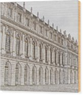 Palace Of Versailles Wood Print