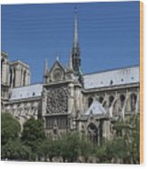 Palace Of Versailles In Paris France Wood Print