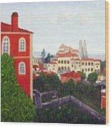 Palace - Sintra Wood Print