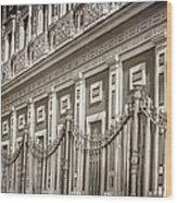 Palacio De San Telmo Facade Wood Print