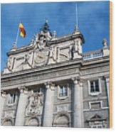 Palacio Real Wood Print
