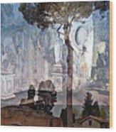 Palatine Hill Wood Print