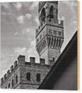Palazzo Vecchio Tower Wood Print