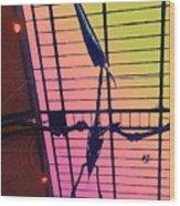 Paleo Flight Wood Print