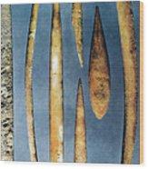 Paleolithic Spears Wood Print