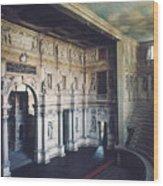 Palladio: Teatro Olimpico Wood Print
