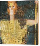 Pallas Athena Wood Print