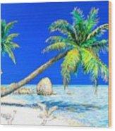 Palm Beach Number Five Wood Print