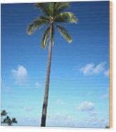 Palm Day Wood Print