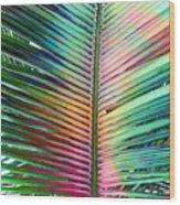 Palm Leaf Art Wood Print