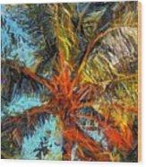 Palm No. 1 Wood Print