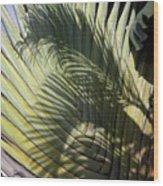Palm On Palm Wood Print