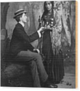 Palm-reading, C1910 Wood Print