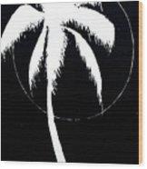 Palm Tree Number 8 Wood Print