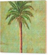 Palm Tree Studio 3 Wood Print